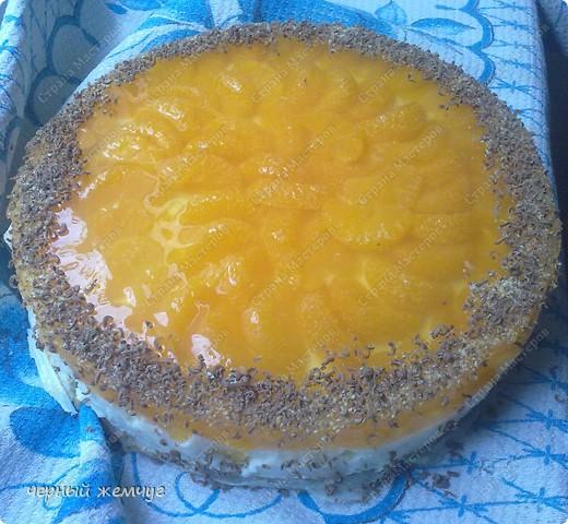"""Йогуртовый торт """"Нежный мандарин"""" фото 7"""