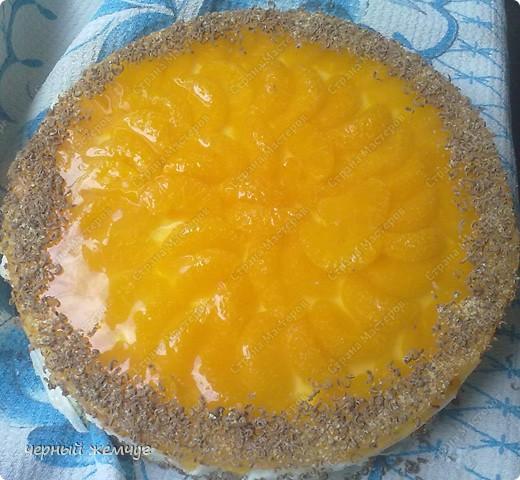 """Йогуртовый торт """"Нежный мандарин"""" фото 8"""