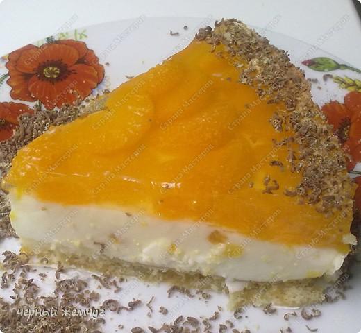 """Йогуртовый торт """"Нежный мандарин"""" фото 9"""