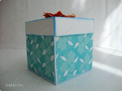 Вот сделала коробочку. Но так так не смогла найти МК по этим чудо-коробочкам делала сама и мне кажется что что-то не так (((( Может быть кто нибудь поделится ссылочкой на МК?!?  фото 2