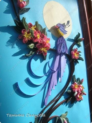 """Еще одна работа в Стране на тему """"Райская птичка"""". Именно её выбрала в качестве подарка на день рождения мамы. фото 3"""