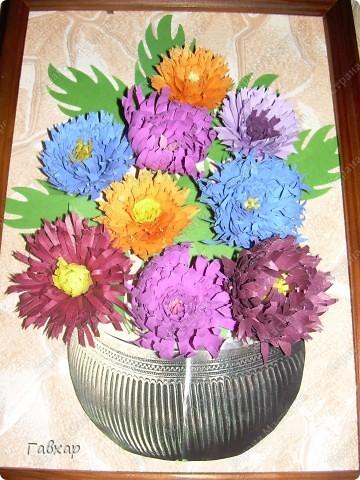 Попробовала сделать хризантемы! Спасибо Ольге Ольшак за МК!!!  фото 1
