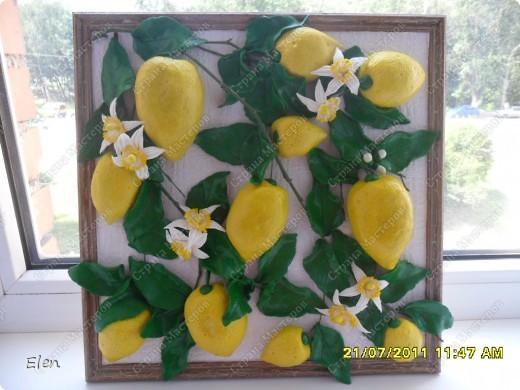 размер рамки 25x25 Фон фактурные обои,веточки березы покрашены зеленой акриловой краской фото 1
