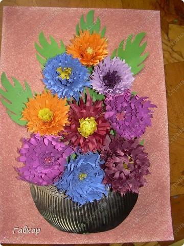Попробовала сделать хризантемы! Спасибо Ольге Ольшак за МК!!!  фото 2