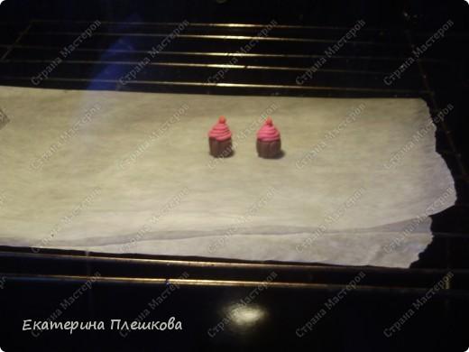 Вот такие незамысловатые серьги-пироженки у меня получились для племяшек.  фото 11