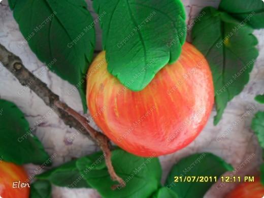 Большое спасибо Марине Архиповой за мк по яблочкам,очень боялась начинать расписывать ядлочки,думала ну точно не получатся,но так они мне нравились фото 3