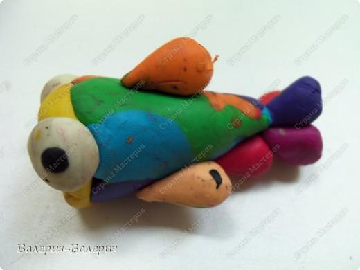 Пластилиновый осьминожек фото 5