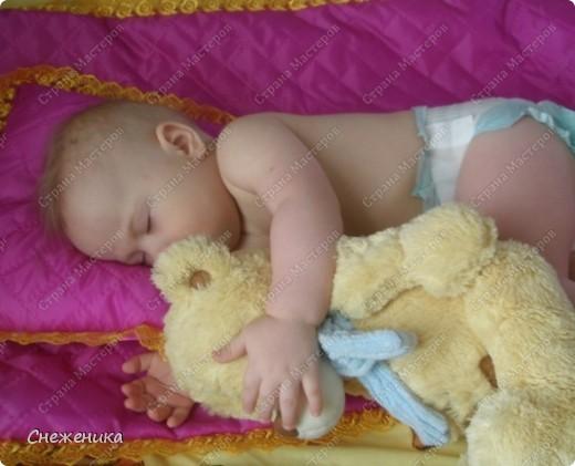 Комплект в кроватку сыночку фото 2