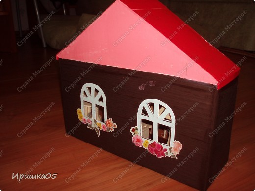 А это наш первый домик и еще в творческом процессе на тот момент был, сейчас уже более красочный стал. фото 1