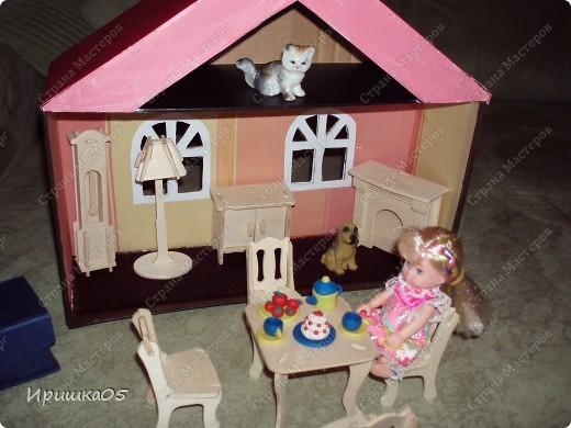 А это наш первый домик и еще в творческом процессе на тот момент был, сейчас уже более красочный стал. фото 2