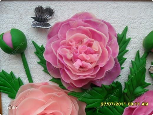 Вчера срочно попросили сделать пионы на день рождения одной любительнице  этих цветочков,но как из из хф делать я не знала,из теста делала,но  из хф не прокатит,ну вот как то и придумала,конечно сохнуть им еще денек,но подружка уже с утра прибежала и забрала сырыми фото 2