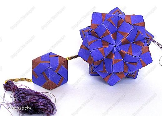 Доброго дня всем!  Первый соноб из книги Mette Pederson «Origami Club1» стр. 32-33. Бумага 6,5 х 6,5 см. 30 модулей. Сборка без клея.  фото 3