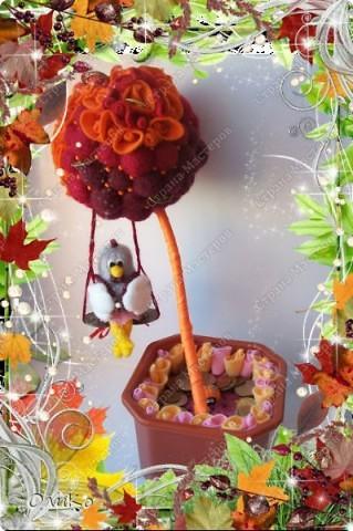 Декоративное дерево привлекающее благосостояние фото 1