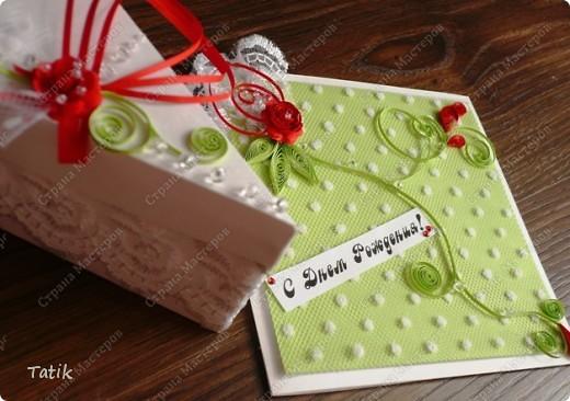 Открытка и тортик собственной персоной ;)) фото 1