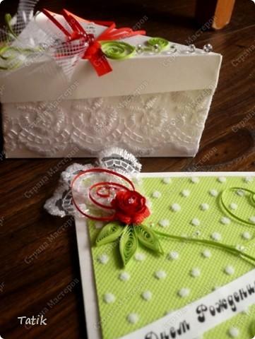 Открытка и тортик собственной персоной ;)) фото 10