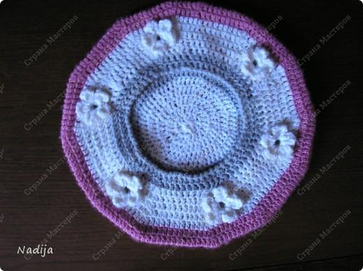 Пряжа Gazzal baby wool 40% мериносовая шерсть 20% кашемир 40% полиакрил Крючок 3мм  Точно не могу сказать сколько ушло пряжи(моток точно,или немного больше) Диаметр беретика 23см на 2-3 годика(49-50см) фото 2