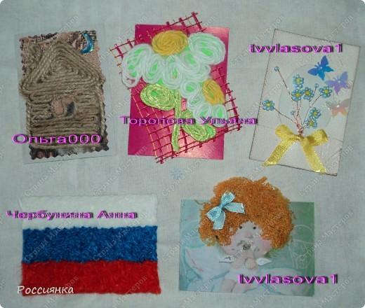 Уже и конверты использовали и марки были, но вот собралось у меня некоторое количество марок с присланных вами конвертов и нашлась симпатичная салфеточка. Получилась вот такая серия. Дизайн довольно лаконичный, но при попытке что-то добавить из декора - не понравилось, оставила так. В серии пока 10 карточек, по мере появления материала появятся еще четыре, именно 14 карточек у меня получается из салфетки 33х33. Кредиторы: ЛеНкина, bagira1965, Сургутяночка-2, _Jane_, Дерябина Вера, ЛЮБОВЬ ВОЛОГДА, Некрасова Юлия, Оленьки, bibka. Девочки, кто ждет другую серию - отпишитесь, пожалуйста. Жду вас до завтра до 9.00 по Москве. фото 18