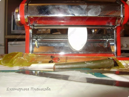 МК лимончика (апельсинчика) из пластики фото 5