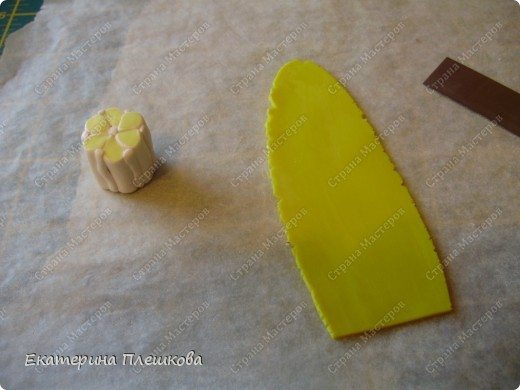 МК лимончика (апельсинчика) из пластики фото 20