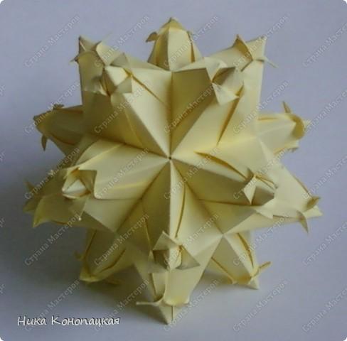 Name: Tulip  Designer: Ekaterina Lukasheva  Parts: 30  Paper: 8*8 cm  Joint: no glue  фото 3