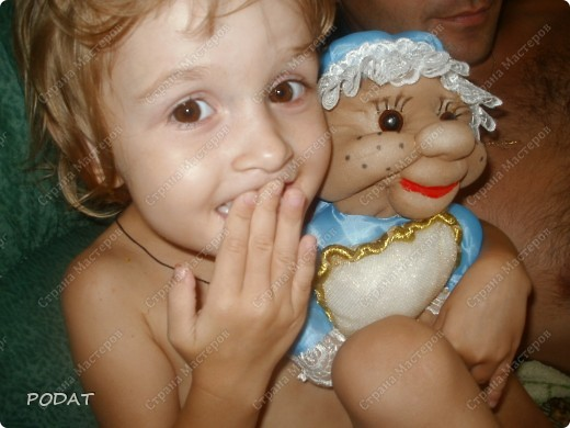 Моя Доченька идет в ясли ,и вот я решила подарить ей и остальным деткам такого ангела сна- Сплюшу фото 3
