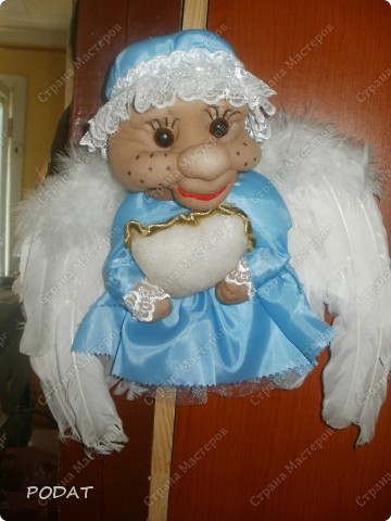 Моя Доченька идет в ясли ,и вот я решила подарить ей и остальным деткам такого ангела сна- Сплюшу фото 1