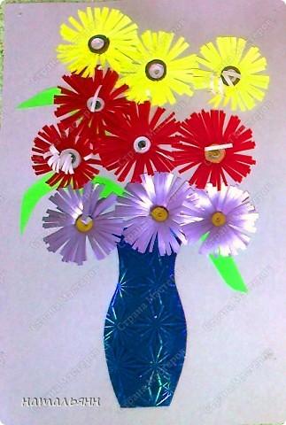 цветы садовые квилинг. фото 20