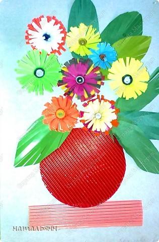 цветы садовые квилинг. фото 21