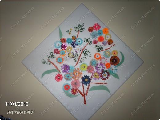 цветы садовые квилинг. фото 5