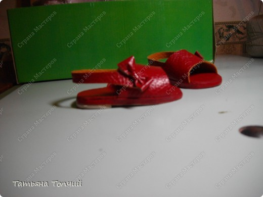 Сандалии для Анфиски. фото 4