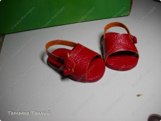 Сандалии для Анфиски. фото 5