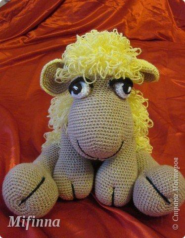 Рада приветствовать всех на своей страничке! Это овечка Холли-Долли, связана по описанию Оллеал с сайта Сатилина. За что ей огромное спасибо! фото 2