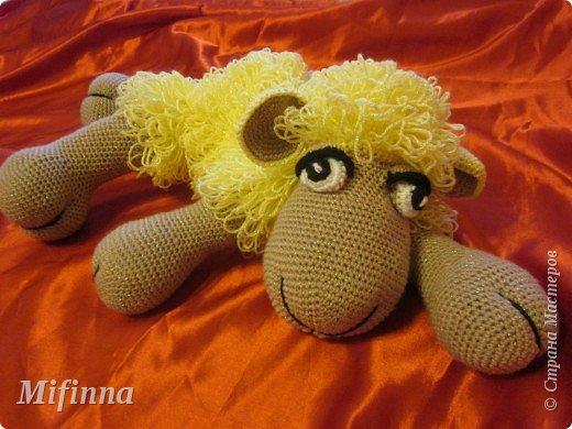 Рада приветствовать всех на своей страничке! Это овечка Холли-Долли, связана по описанию Оллеал с сайта Сатилина. За что ей огромное спасибо! фото 5