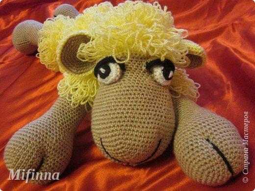 Рада приветствовать всех на своей страничке! Это овечка Холли-Долли, связана по описанию Оллеал с сайта Сатилина. За что ей огромное спасибо! фото 1