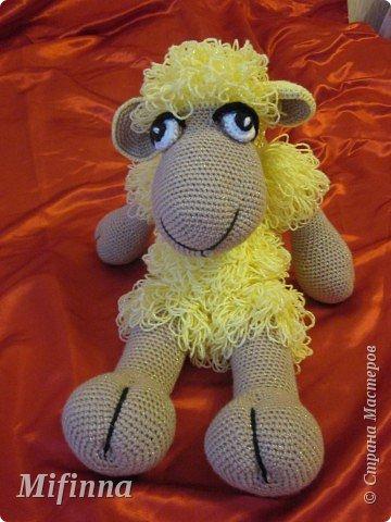 Рада приветствовать всех на своей страничке! Это овечка Холли-Долли, связана по описанию Оллеал с сайта Сатилина. За что ей огромное спасибо! фото 4