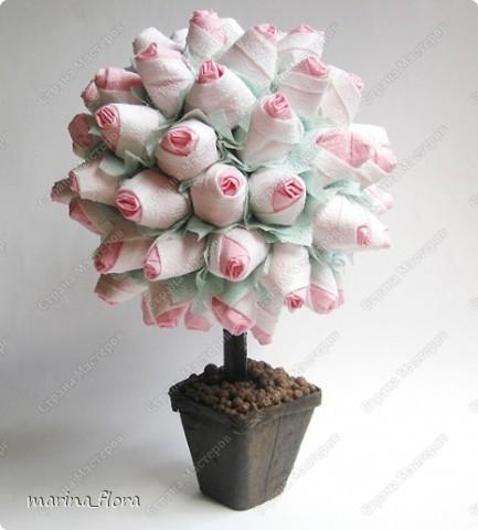 Источником для вдохновения  к созданию данного  розового куста  фото 5