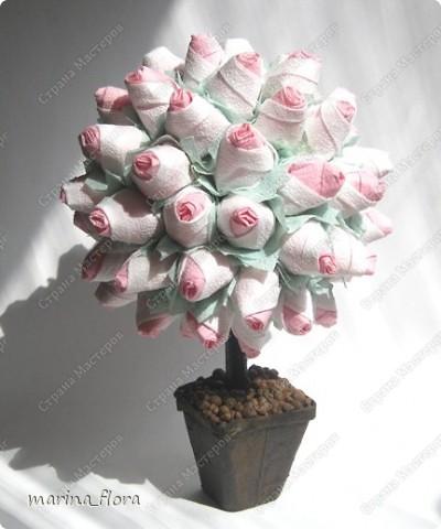 Источником для вдохновения  к созданию данного  розового куста  фото 1