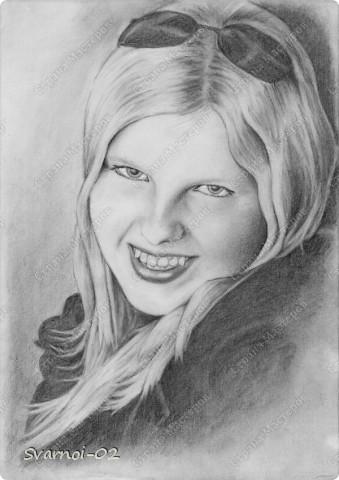 Портрет моей сестренки!
