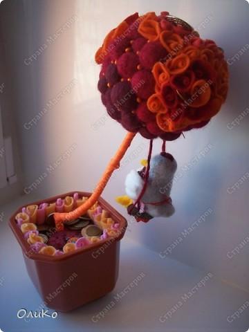 Декоративное дерево привлекающее благосостояние фото 3