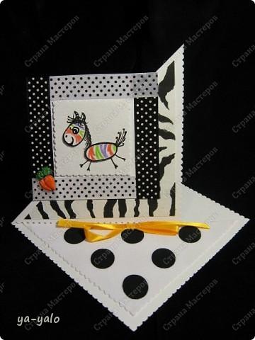 Эта цветная зебра получилась после посещения блога Лена-Лена http://stranamasterov.ru/node/223269#comment-2114243 , где я увидела в комментариях картинку, которую выставила  Kaminska_Maya.  Она то меня и вдохновила перекрасить зебру. А ведь вчера она была черно-белой))))  фото 1