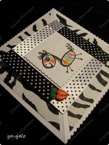 Эта цветная зебра получилась после посещения блога Лена-Лена http://stranamasterov.ru/node/223269#comment-2114243 , где я увидела в комментариях картинку, которую выставила  Kaminska_Maya.  Она то меня и вдохновила перекрасить зебру. А ведь вчера она была черно-белой))))  фото 3