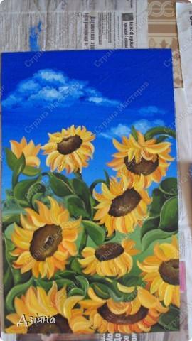 Работа выполнена маслеными красками. размер каждой картины 30Х60. фото 2