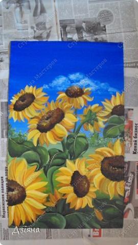 Работа выполнена маслеными красками. размер каждой картины 30Х60. фото 3
