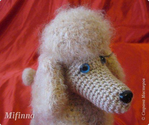 Благодаря Алене Haruko с сайта САТИЛИНА у меня получилась такая собачка-пудель Аня (подарок для подруги).  Не устану говорить ей спасибо!!!!!  фото 3