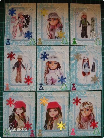 Это первая часть серии. Сейчас делаю весну, завтра выставлю. Первыми выбирают кредиторы, если понравится, Vitulichka, bagira1965, Valkiria, Ленкина,  bibka, Ксюша-токалка, vaulchenko, ЛЮБОВЬ ВОЛОГДА, Сидоровская Настя.  Кредиторов больше, чем эта часть, но впереди еще 3 части по 9 карточек - весна, лето и осень.   фото 1