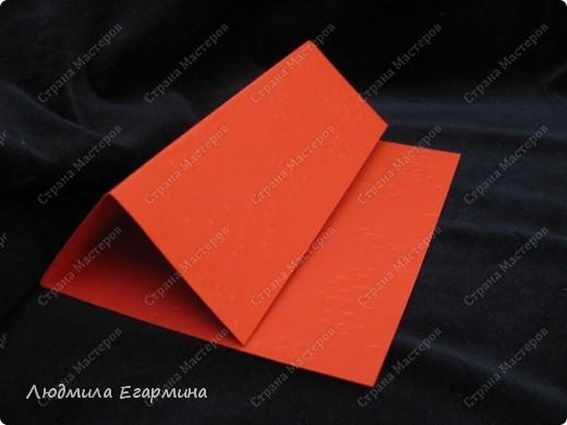 """Предлагаю сделать вот такую открытку """"С годовщиной свадьбы!"""". Для создания использовано 4 цвета: молочный, розовый, красный, золотой. фото 3"""