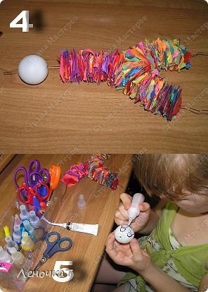 Совместно  с  моей доченькой Олесей мы  создали  этот МК.А  вдруг  кому-нибудь да  пригодится.Тем  более  Клёпа  очень  весёлый  парень!   фото 3