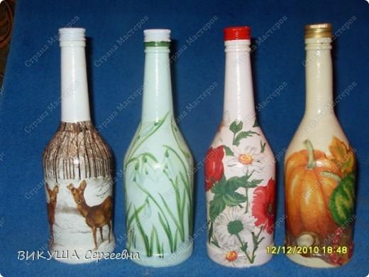 Бутылка в подсолнухи фото 2