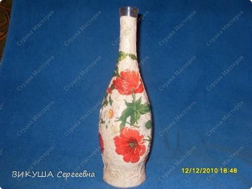 Бутылка в подсолнухи фото 3