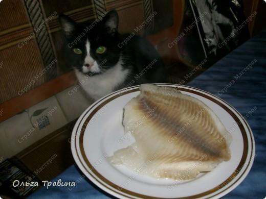 Блюдо готовится быстро и получается вкусным. Для приготовления требуется рыба (последнее время я использую филе тилапии), майонез, жареный репчатый лук, вареное яйцо. фото 4
